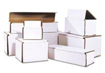 7 x 3 x 2 White Corrugated