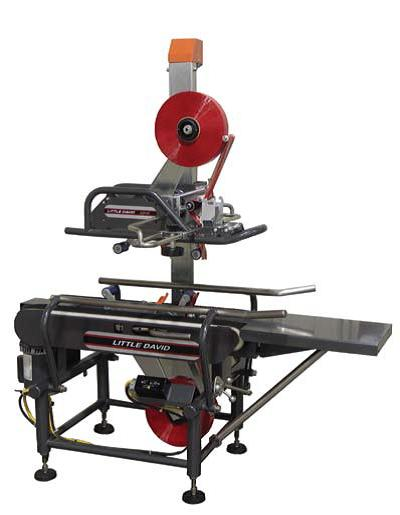 "Little David Case Sealer LD-X 2"" with casters, pack table,"