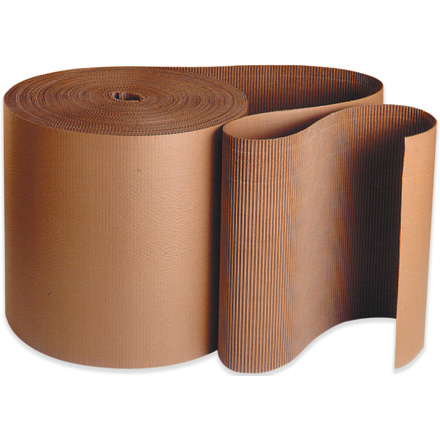 "15"" x 250' Single Face Corrugated Roll"